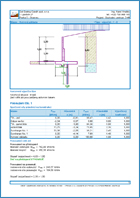 GEO5 Masonry Wall - Output Report Sample