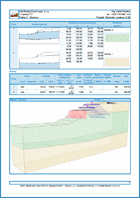 GEO5 Slope Stability - Ouput report sample