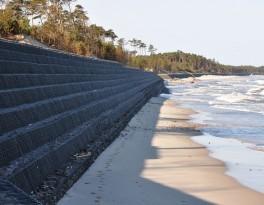 Revestimiento gavión (protección contra erosión)