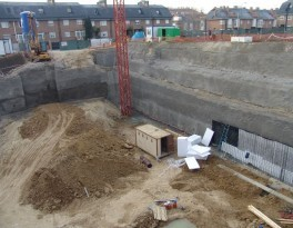 Obras en construcción